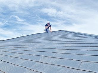 屋根から外壁の隅々まで丁寧に診断します