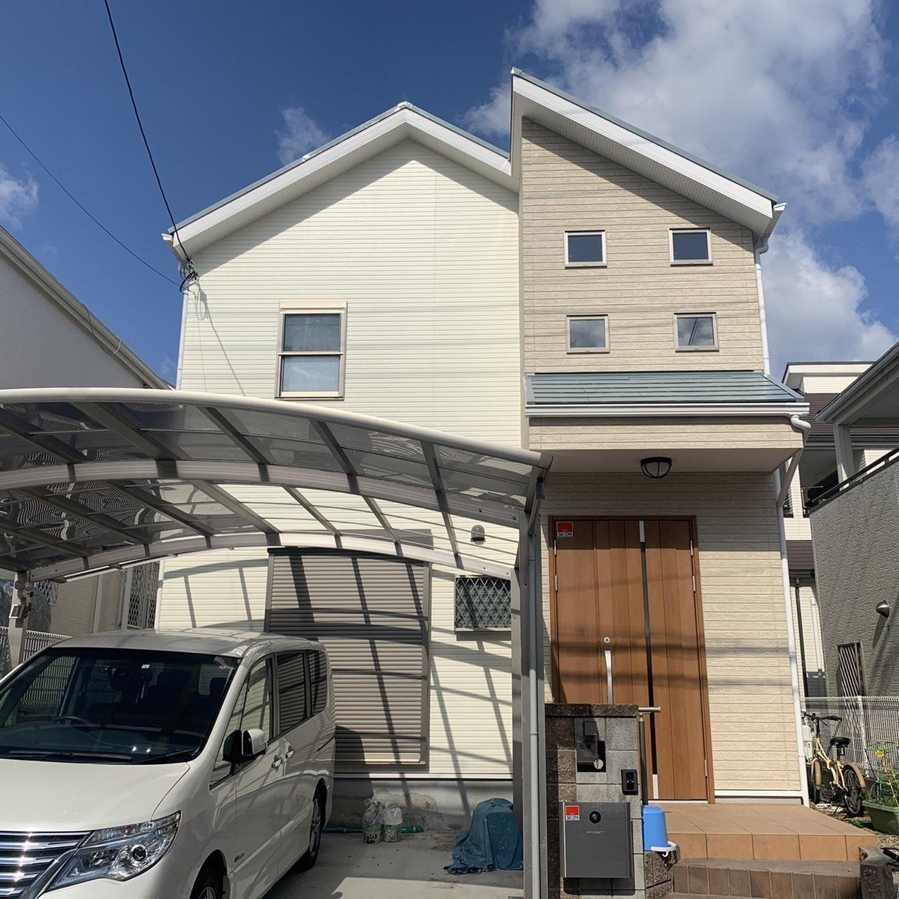 【三田市下深田】我が家に合った塗装をして頂けたと思います。